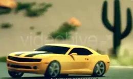 Cinematic car transformer_clip