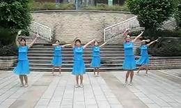 永安蝶恋花广场舞 唱起来跳起来 (附背面演示)
