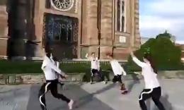匈牙利妹子们的欢乐跳绳