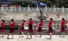 翠竹映霞 广场舞 《春熙路旁》超清