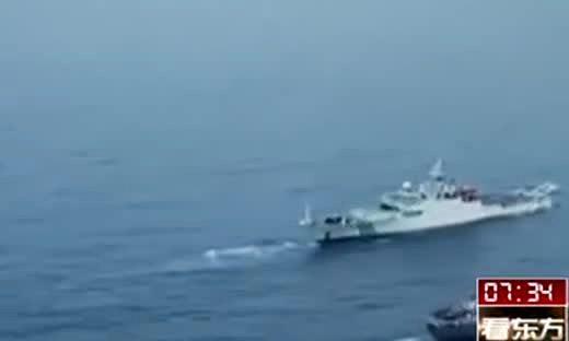 海监船撞越南