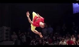 非常精彩的跆拳道表演!