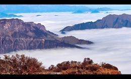 延时摄影:云上,牛背山云海