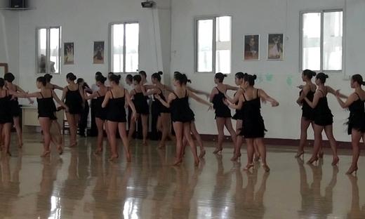 2014专业体舞院校公开课 - 拉丁舞(四)